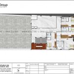 5 Bản vẽ lầu 5 khách sạn tân cổ điển đẹp tại an giang sh ks 0077