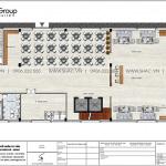 5 Bản vẽ tầng 1 khách sạn kiểu tân cổ điển đẹp tại hà nội sh ks 0078