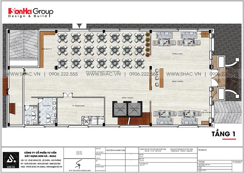Khách sạn tân cổ điển 3 sao tại Hà Nội thiết kế thời thượng từ mọi góc – SH KS 0078 5
