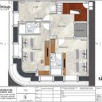 5 Bản vẽ tầng tum khách sạn tân cổ điển mặt tiền 8,5m tại quảng ninh sh ks 0079