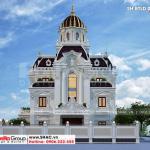 5 Thiết kế biệt thự lâu đài xa hoa tại hà nam sh btld 0043