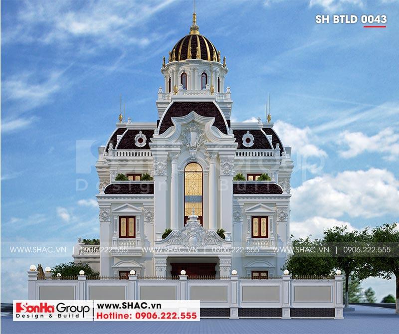 Lộ diện siêu biệt thự lâu đài 3 tầng trăm tỷ của đại gia Hà Nam – SH BTLD 0043 5