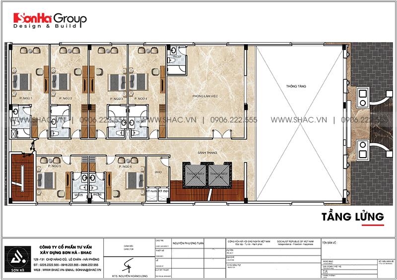 Khách sạn tân cổ điển 3 sao tại Hà Nội thiết kế thời thượng từ mọi góc – SH KS 0078 6