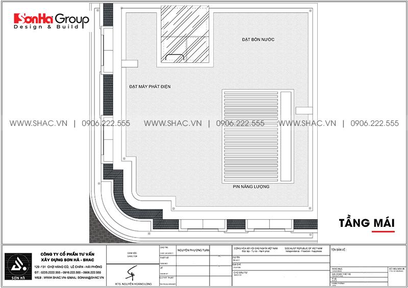 Mẫu khách sạn mini 2 sao kiến trúc tân cổ điển 8,5x9m tại Quảng Ninh – SH KS 0079 7