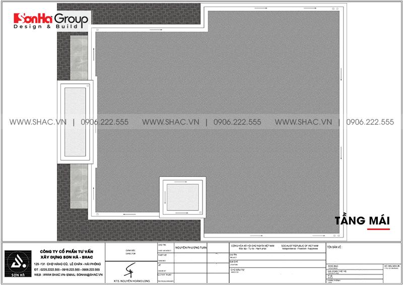 Kinh doanh đại thắng với thiết kế khách sạn hiện đại mini phong thủy tại Quảng Ninh – SH KS 0076 7