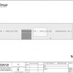 8 Bản vẽ tầng mái nhà ống có 5 phòng ngủ kiểu hiện đại tại hải dương sh nod 0215
