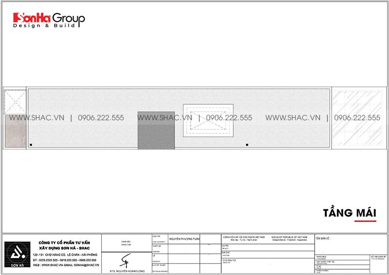 Mẫu thiết kế nhà ống mặt tiền 3m rưỡi hiện đại nhìn là phê tại Hải Dương - SH NOD 0125 7