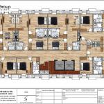 8 Mặt bằng tầng 6 khách sạn tân cổ điển mặt tiền 14,6m tại hà nội sh ks 0078