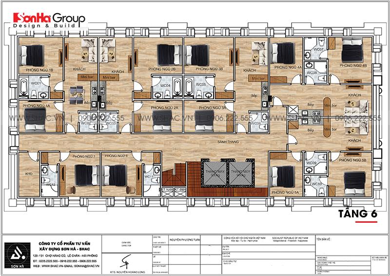 Khách sạn tân cổ điển 3 sao tại Hà Nội thiết kế thời thượng từ mọi góc – SH KS 0078 8