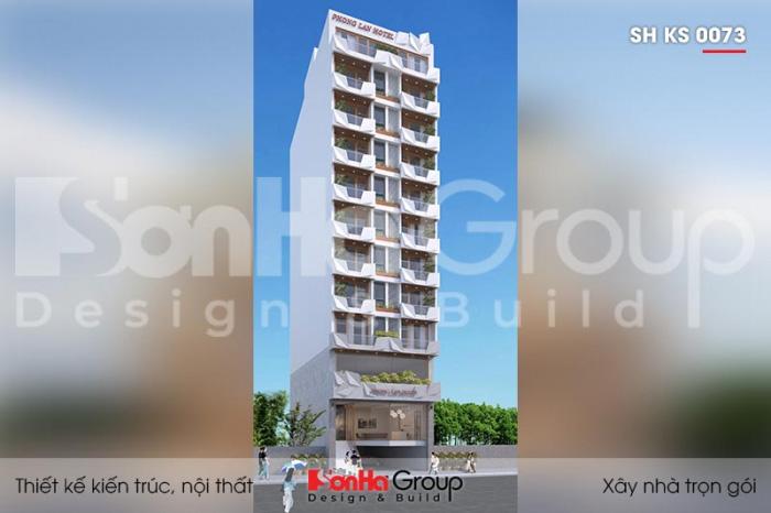 Khách sạn 12 tầng tiêu chuẩn 3 sao KS 0073