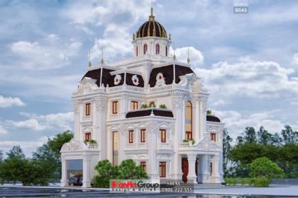 Biệt thự lâu đài 3 tầng trăm tỷ