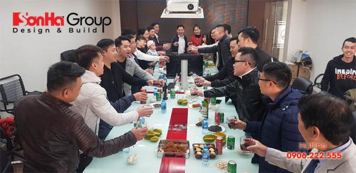 CBNV Sơn Hà Group tràn ngập khí thế và tinh thần mới trong buổi gặp mặt đầu xuân Canh Tý 2020 (1)