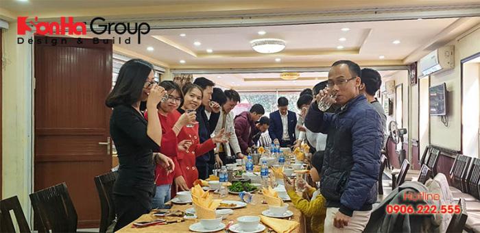 CBNV Sơn Hà Group tràn ngập khí thế và tinh thần mới trong buổi gặp mặt đầu xuân Canh Tý 2020 (3)