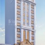 1 Thiết kế khách sạn kiểu tân cổ điển tại lạng sơn sh ks 0083