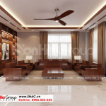 1 Thiết kế nội thất phòng khách tại Hải Phòng sh btd 0078