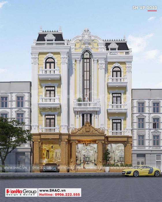 Mẫu thiết kế tòa nhà văn phòng của Sơn Hà Group