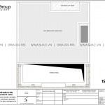 10 Mặt bằng tầng mái khách sạn tân cổ điển 3 sao tại lạng sơn sh ks 0083