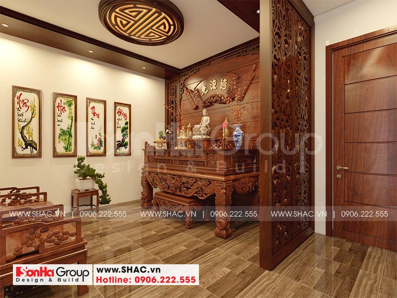 Nhà phố 3 tầng hiện đại tại Hải Phòng sang trọng với nội thất gỗ - SH NOD 0220 12
