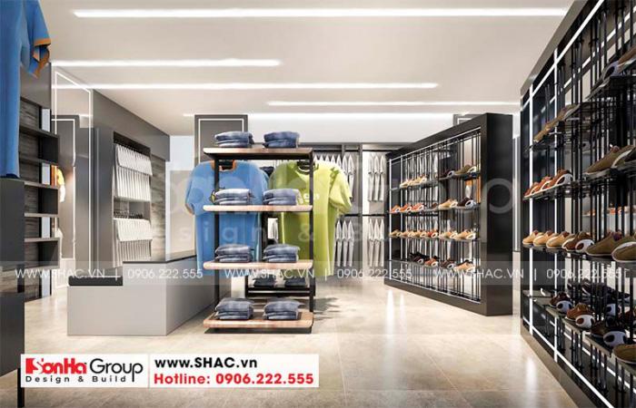 Không gian kinh doanh được sắp xếp ấn tượng giúp trưng bày sản phẩm đẹp