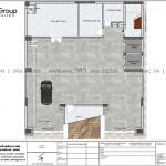 2 Mặt bằng tầng 1 khách sạn tân cổ điển 3 sao tại lạng sơn sh ks 0083