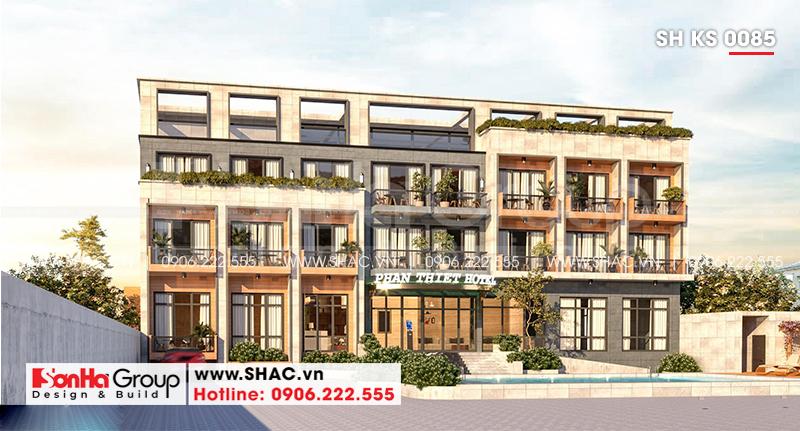 Mẫu khách sạn hiện đại 3 sao tại Bình Thuận toát lên vẻ năng động – SH KS 0085 2