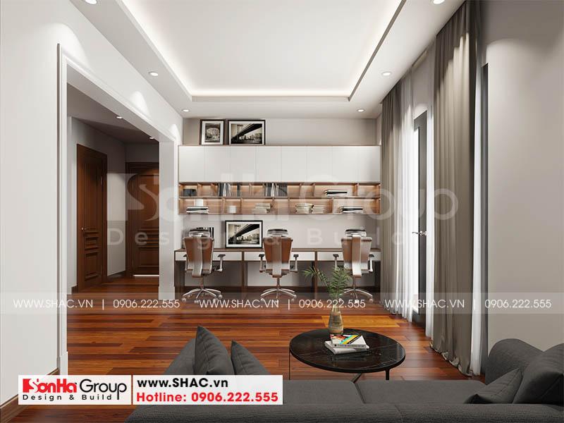 Mẫu thiết kế biệt thự hiện đại 2 tầng mái thái đẹp hoàn hảo tại Hải Phòng – SH BTD 0078 18
