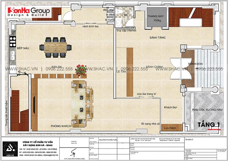 Mẫu khách sạn tân cổ điển đẹp tiêu chuẩn 3 sao tại Phú Quốc – SH KS 0081 3