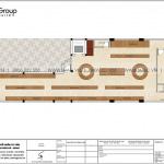 4 Mặt bằng công năng tầng 1 nhà ống hiện đại kết hợp kinh doanh tại hải phòng sh nod 0218