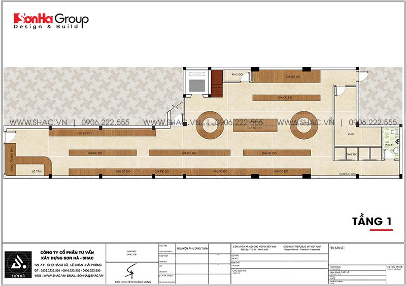 """Mặt tiền """"có 1 không 2"""" của nhà phố 3 tầng hiện đại kết hợp kinh doanh tại Hải Phòng – SH NOD 0218 4"""