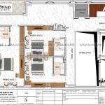 4 Mặt bằng tầng lửng khách sạn tân cổ điển mặt tiền 11,85m tại phú quốc sh ks 0081