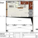 4 Mặt bằng tầng lửng khách sạn tân cổ điển mặt tiền 15m tại lạng sơn sh ks 0083