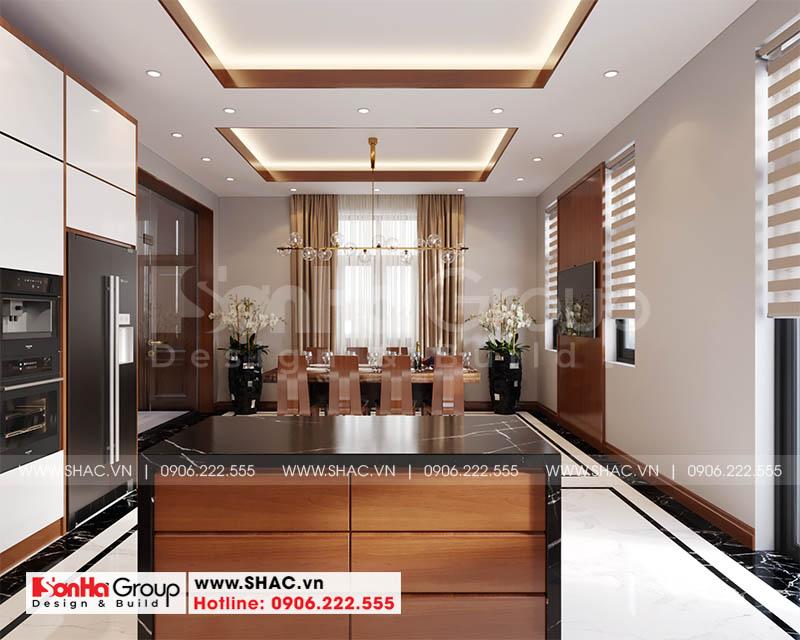 Mẫu thiết kế biệt thự hiện đại 2 tầng mái thái đẹp hoàn hảo tại Hải Phòng – SH BTD 0078 9