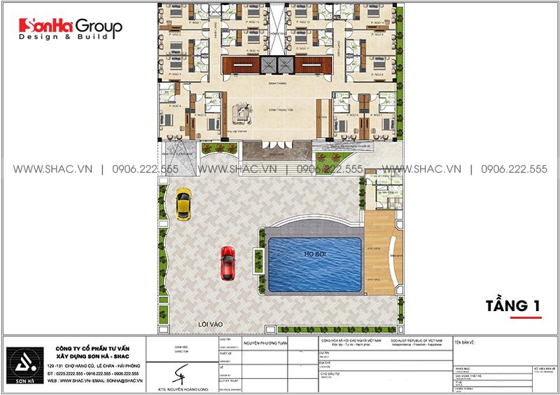 Mẫu khách sạn hiện đại 3 sao tại Bình Thuận toát lên vẻ năng động – SH KS 0085 5