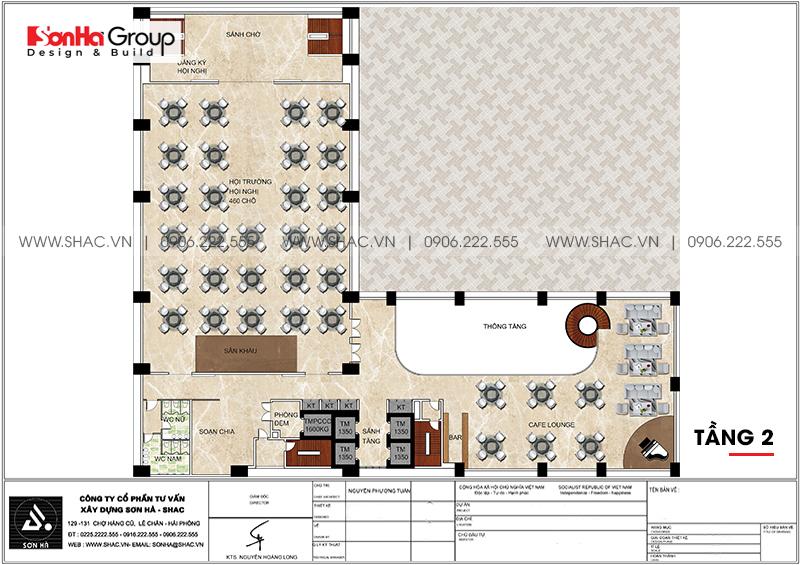 Khách sạn 5 sao phong cách tân cổ điển tại Nghệ An thiết kế đẹp hoàn hảo – SH KS 0086 5