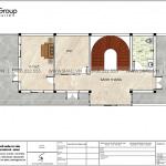 5 Mặt bằng tầng 3 nhà ống hiện đại đẹp tại hải phòng sh nod 0220
