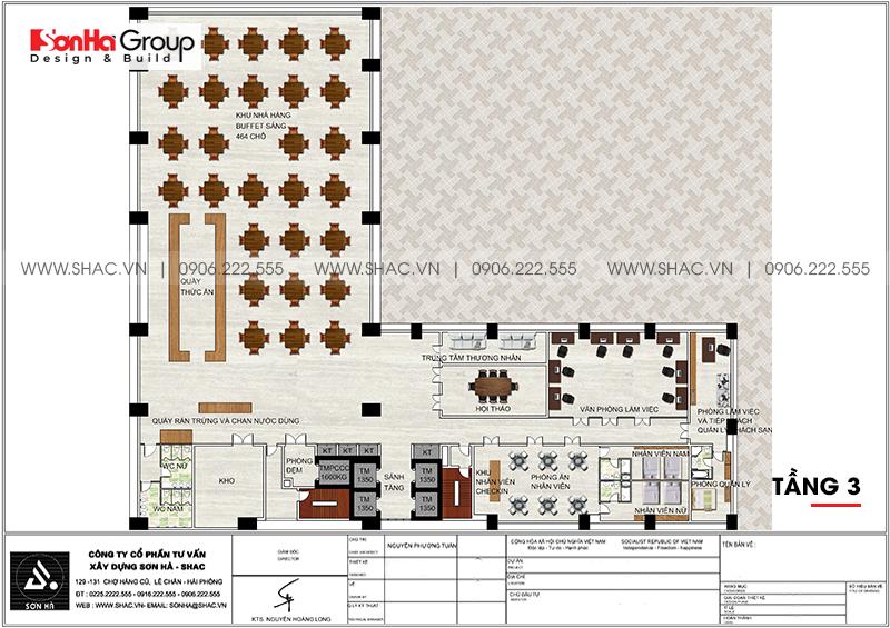 Khách sạn 5 sao phong cách tân cổ điển tại Nghệ An thiết kế đẹp hoàn hảo – SH KS 0086 6