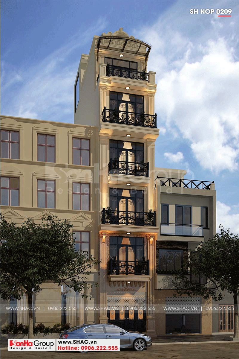 Các kiến trúc tập trung vào bố cục thay việc sử dụng các trang trí rườm rà