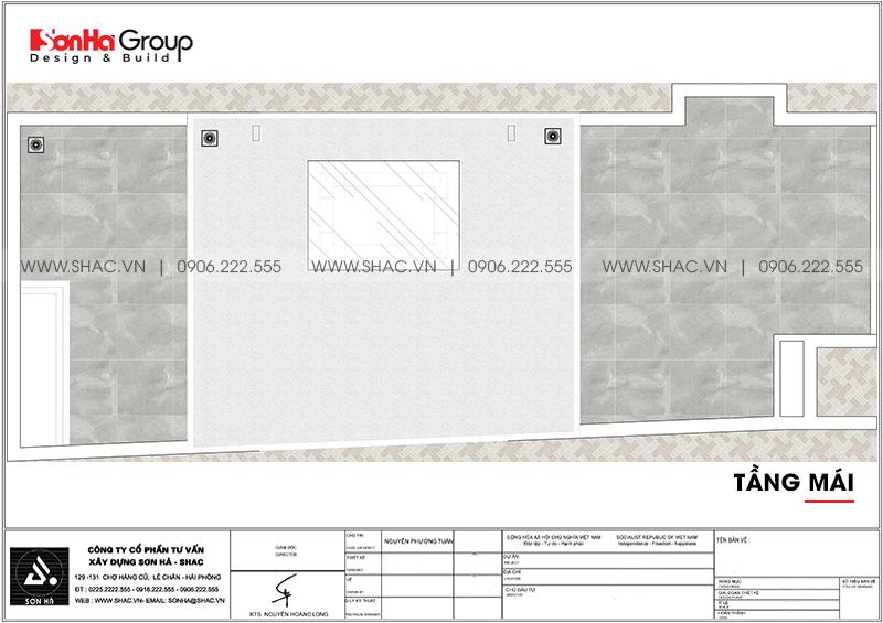 Mẫu nhà ống hiện đại 3 phòng ngủ 5,57x18,21m tại Hải Phòng giản dị mà đẹp mắt – SH NOD 0129 7