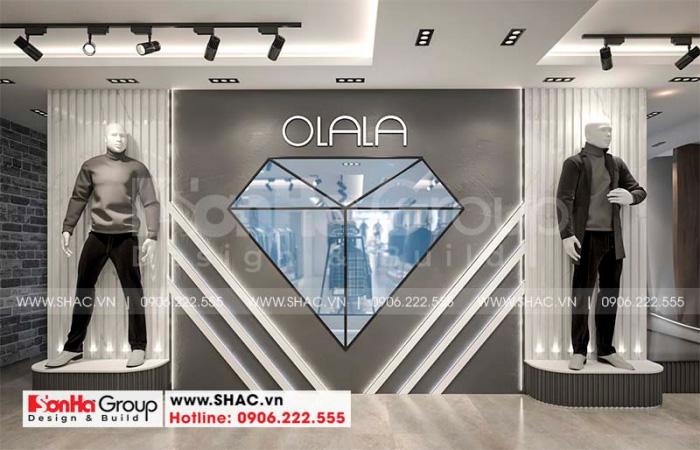 Thiết kế nội thất không gian kinh doanh của nhà phố 3 tầng hiện đại tại Hải Phòng