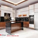 7 Thiết kế nội thất phòng bếp sang trọng tại Hải Phòng sh btd 0078