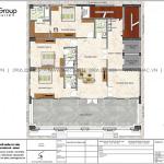 8 Mặt bằng tầng 11 khách sạn tân cổ điển mặt tiền 15m tại lạng sơn sh ks 0083