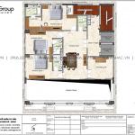 9 Bản vẽ tầng 12 khách sạn kiểu tân cổ điển tại lạng sơn sh ks 0083