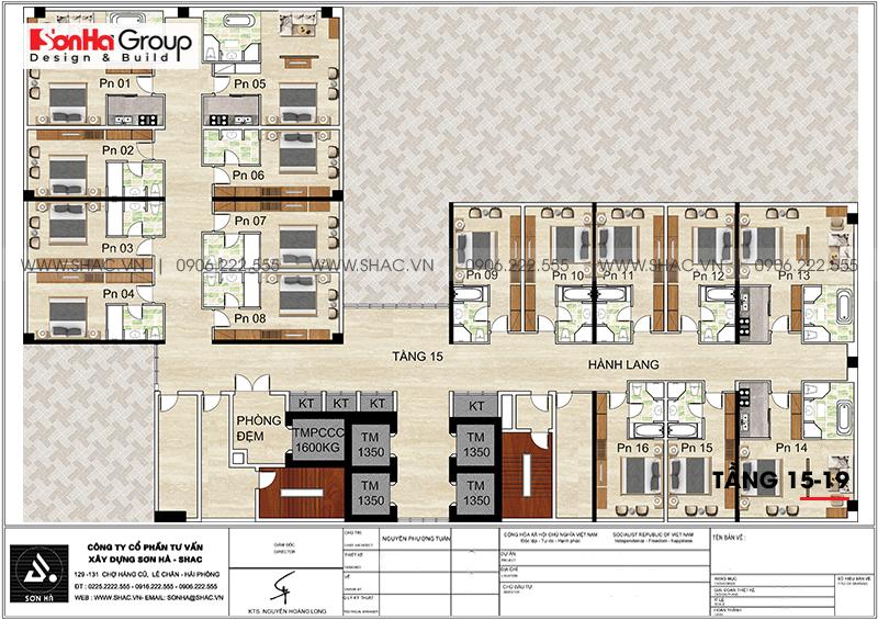 Khách sạn 5 sao phong cách tân cổ điển tại Nghệ An thiết kế đẹp hoàn hảo – SH KS 0086 9
