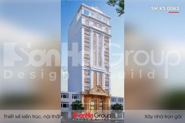BÌA thiết kế khách sạn tân cổ điển 3 sao 12 tầng tại lạng sơn sh ks 0083