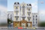 BÌA thiết kế tòa nhà văn phòng 4 tầng kiểu tân cổ điển tại sài gòn sh vp 0040