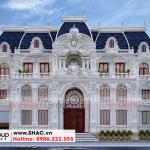 1 Thiết kế biệt thự lâu đài đẹp tại vĩnh phúc sh btld 0045