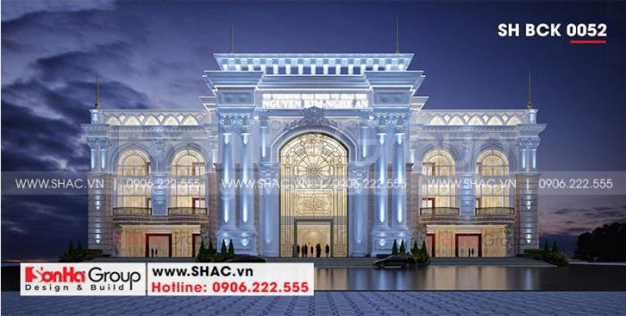 Thiết kế trung tâm thương mại và dịch vụ giải trí Nguyễn Kim diện tích gần 4000m2