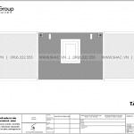 10 Bản vẽ tầng mái nhà ống hiện đại 4 tầng tại hải phòng sh nod 0223