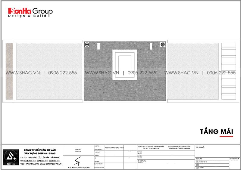 Thiết kế nhà ống hiện đại 3 phòng ngủ phong thủy tại Hải Phòng - SH NOD 0223 9