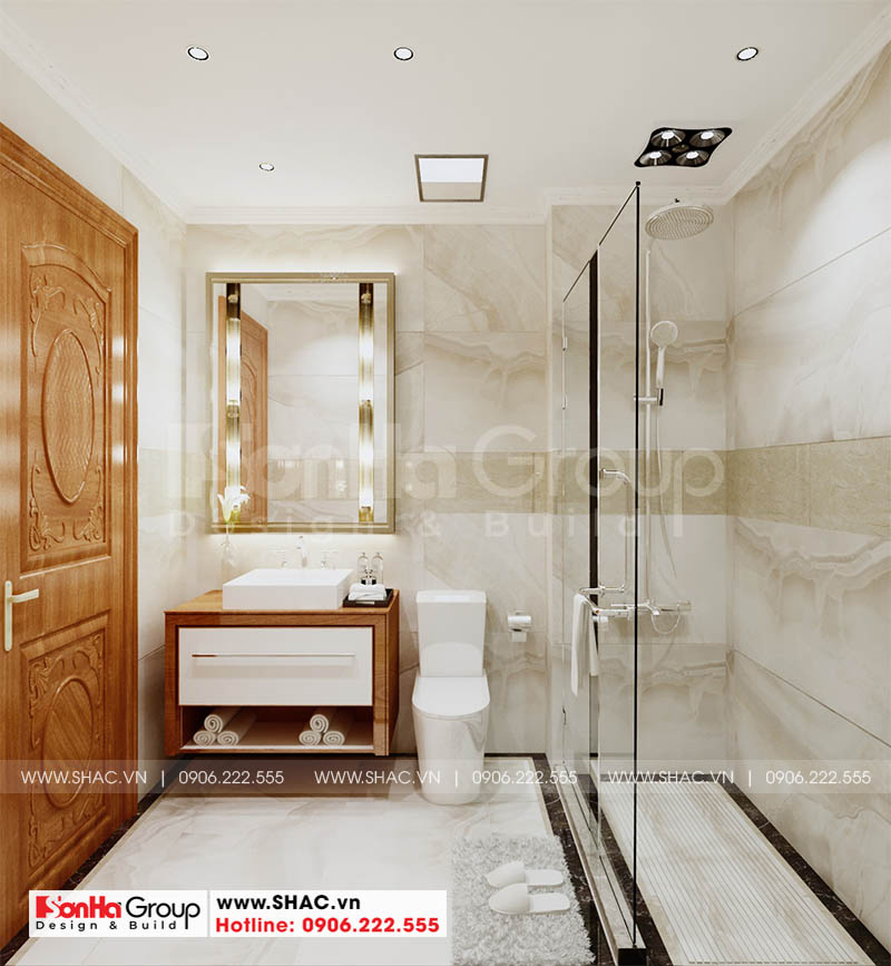 Thiết kế phòng tắm ấn tượng với mẫu gạch ốp lát mới nhất châu Âu